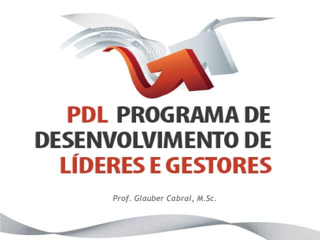 Workshop PDL -Programa de Desenvolivmento de Líderes e Gestores