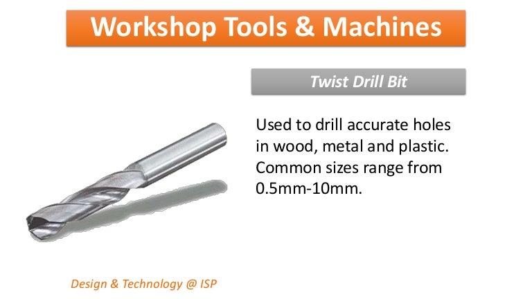 Workshop tools & machines