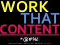 Work that Content & Make Your Message Resonate