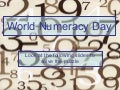 World Numeracy Day - MGS Puzzle