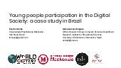 Young people participation in the Digital Society: a case study in Brazil