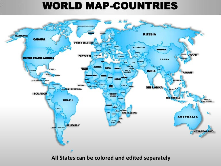 World map with country names for powerpoint 28 images apt world editable continent map with countries world gumiabroncs Choice Image