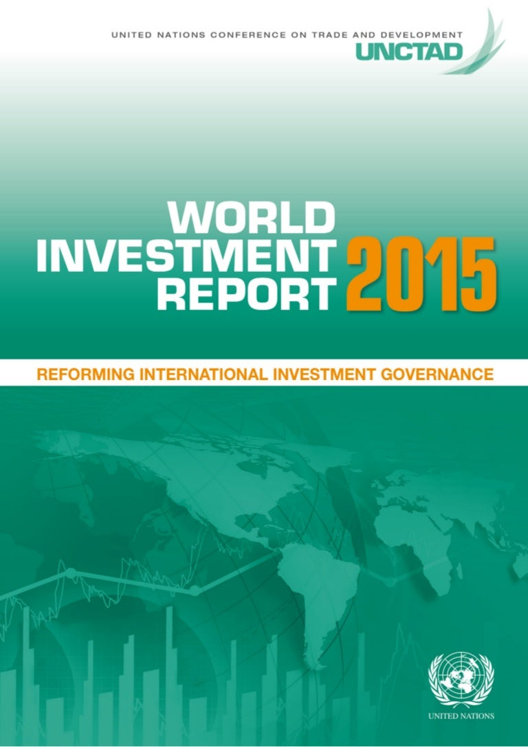 world investment report 2015 of united nations from unctad