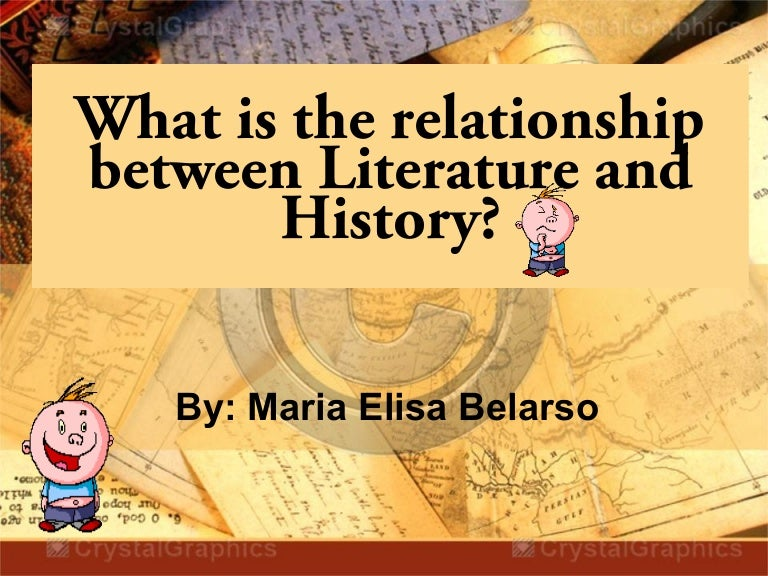 examining the relationship between literature and history Before undertaking a review of the literature regarding obesity  although the relationship between obesity and  49 studies examining the relationship between.