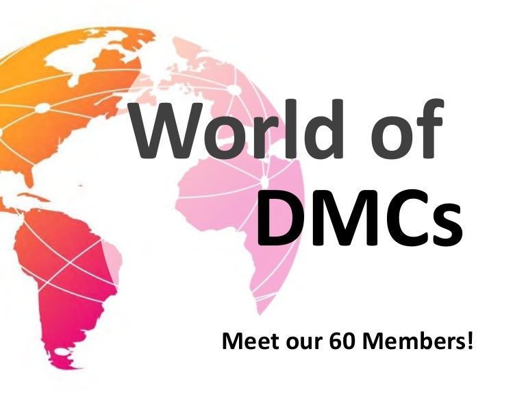 World of DMCs - Meet our 60 Members!