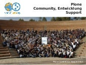Plone - Community, Entwicklung, Support