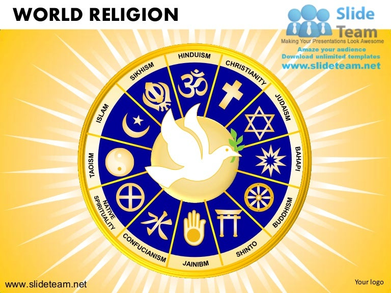 World Religion Christanity Judaism Buddhism Hinduism Powerpoint Ppt T