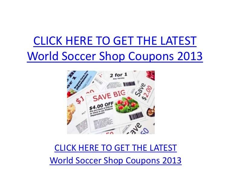 world soccer shop promo code