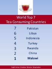 World Top 7 Tea Consuming Countries