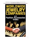Worldwide jewellery companies and fashion accessories sample free