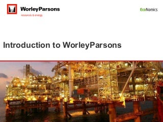 Worley Parsons Overview Sept 09
