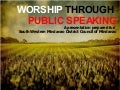 Worship through Public Speaking