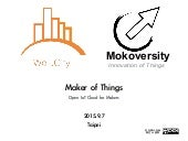 Maker of Things - the open IoT cloud for makers chapter.