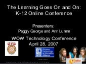 WOW Presentation-K12 Online Conference