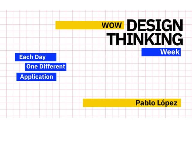 WOW Design Thinking