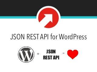 JSON REST API for WordPress