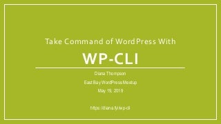 Take Command of WordPress With WP-CLI