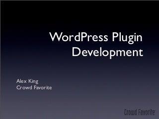 WordPress Plugins (WordCamp Utah)
