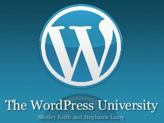 The WordPress University