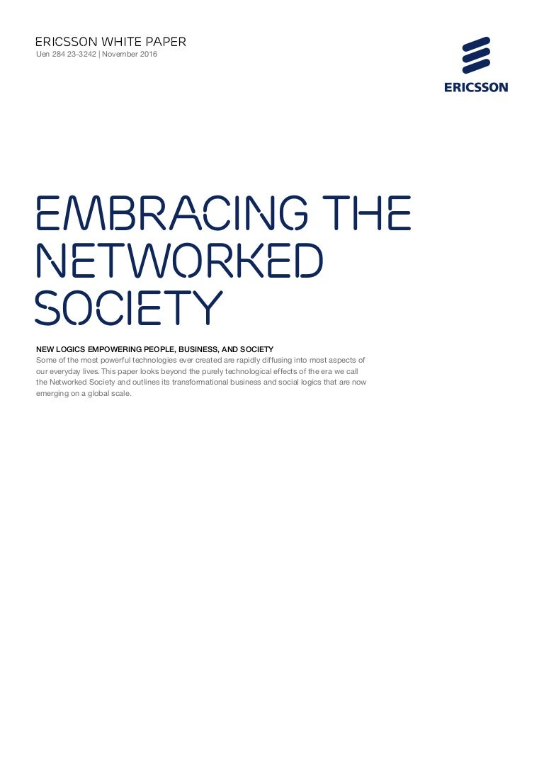 white paper understanding the networked society new logics for an