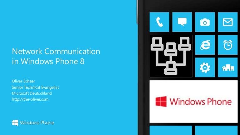 Windows Phone 8 - 12 Network Communication