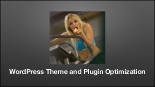 WordPress Theme and Plugin Optimization - WordPress Arvika March '14