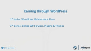 How to configure & Sell WP Maintenance Plans