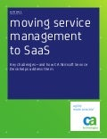 Moving Service Management to SaaS: Key Challenges—and How CA Nimsoft Service Desk Helps Address Them