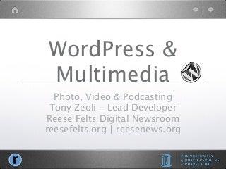 WordcampNYC 2010 - WordPress & Multimedia (Updated)