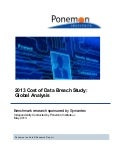 Whitepaper: 2013 Cost of Data Breach Study
