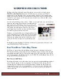 WP Video Theme with Great Features