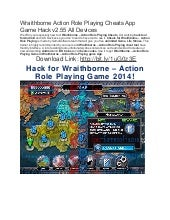 Wraithborne action role playing cheats app game hack v2