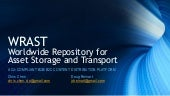WRAST, Worldwide Repository for Assets. Project Cloud QTR meeting @ Disney/ABC