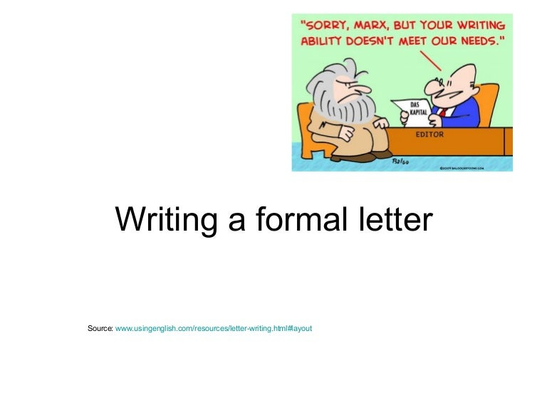 Sample Of A Formal Letter from cdn.slidesharecdn.com