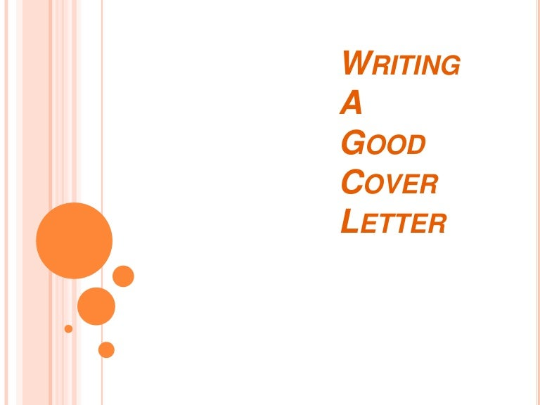 writing a good cover letter. Resume Example. Resume CV Cover Letter