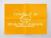 Elements of an Essay - Writing an Introduction Paragraph