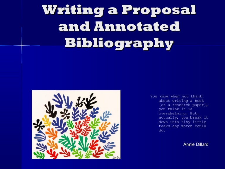 term paper proposal annotated bibliography An exceptional term paper writing service pass any course with our custom writing service and stay completely anonymous your academic reputation doesn't have to suffer.