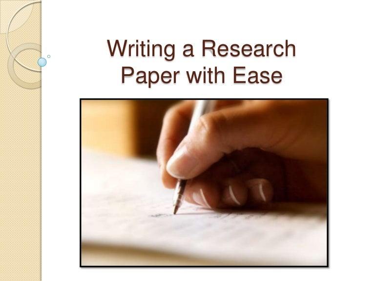 Ten Steps to Writing a Research Paper    Select a Topic