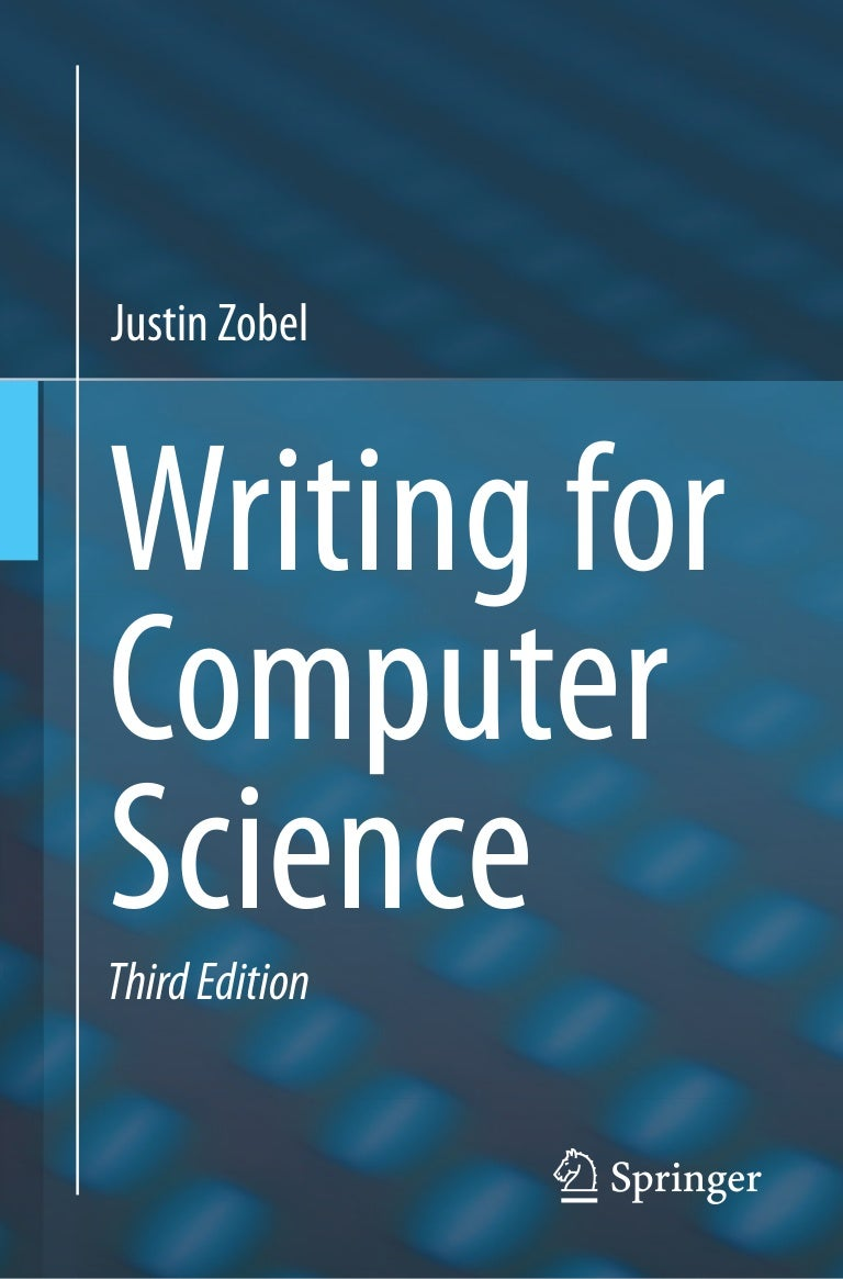 writing for computer science 3rd edition springer