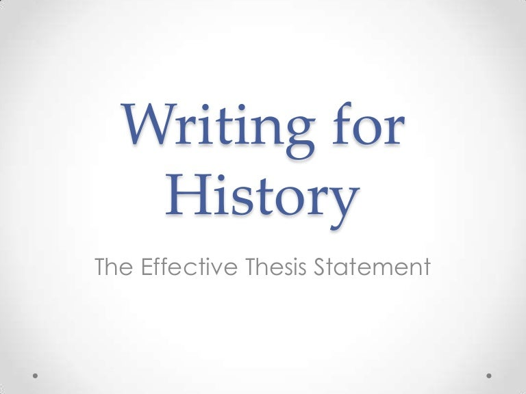 why is the thesis statement effective A thesis can be found in many places—a debate speech, a lawyer's closing argument, even an advertisement but the most common place for a thesis statement (and probably why you're reading this article) is in an essay.