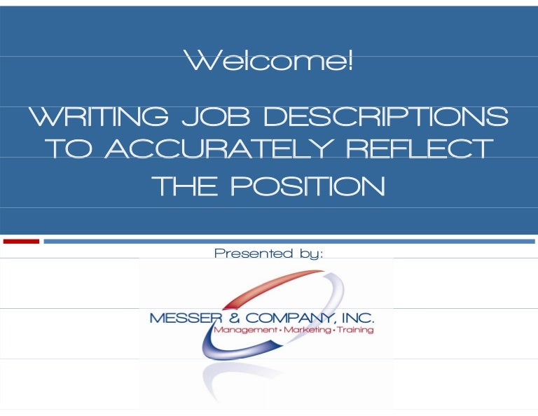 developing effective job descriptions 1009. Resume Example. Resume CV Cover Letter
