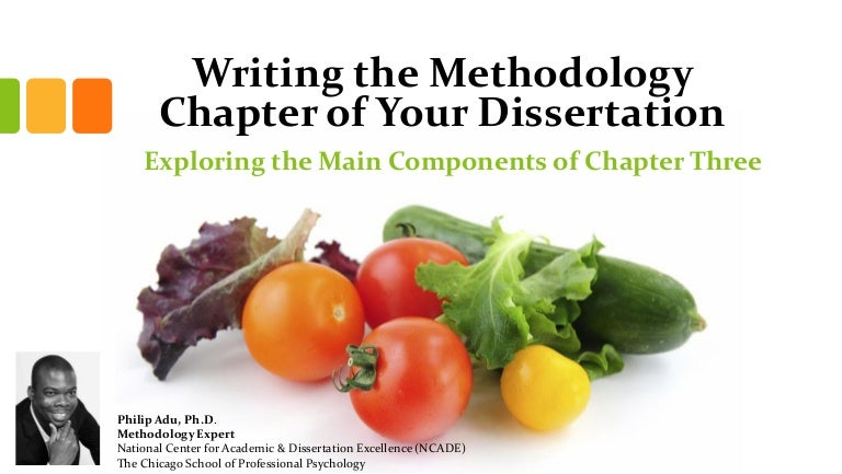Guidelines for Writing Dissertation Proposals And.