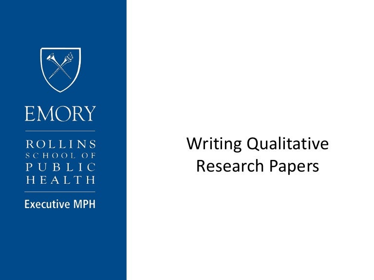 qualitative research paper components Qualitative research aims at in-depth understanding of a subject through methods such as interview, case study, observations, and others, focusing on the why and how of things.