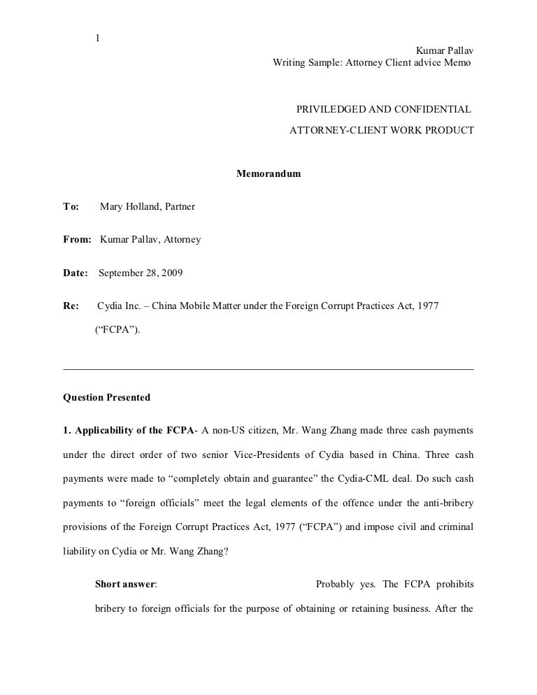 Legal Memo Legal Memo Template Free Download Sample Legal Memo