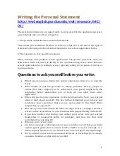 personal statement writers
