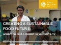 Achieving Replacement Level Fertility: Creating a Sustainable Food Future, Installment 3