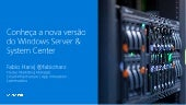 Windows Server 2016, System Center 2016 e OMS