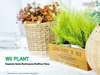 WS Plant - Responsive Garden WooCommerce WordPress theme