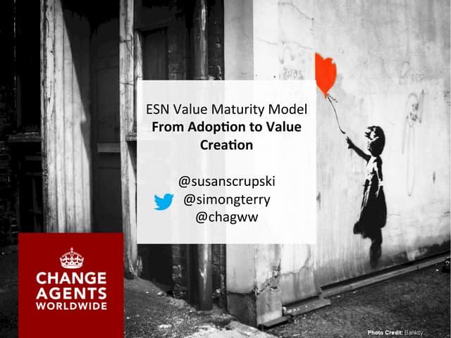 Social Maturity Model - WST Austin 2014