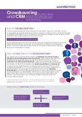 Wunderman Whitepaper - Crowdsourcing